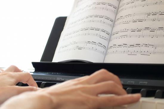 楽譜みて練習